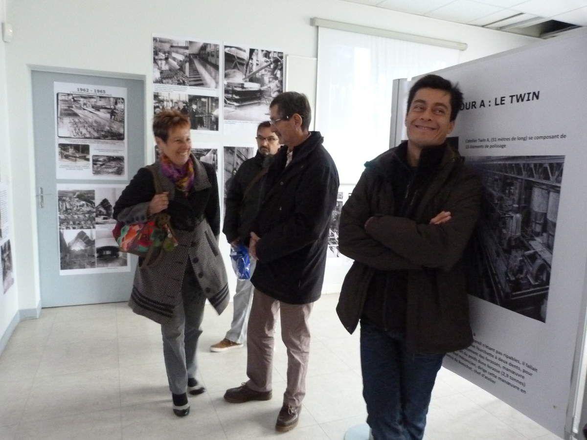 Album - 2015, Saint-Gobain, 600 personnes sont venues à l'exposition de la Glacerie de Chantereine du 12 au 17 octobre 2015
