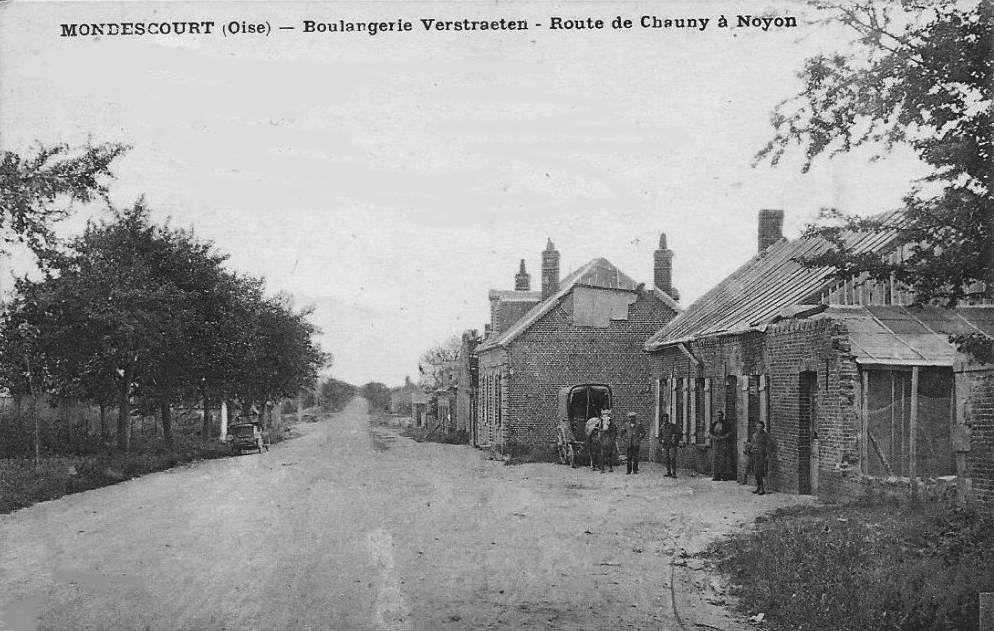 Album - le village de Mondescourt (Oise)