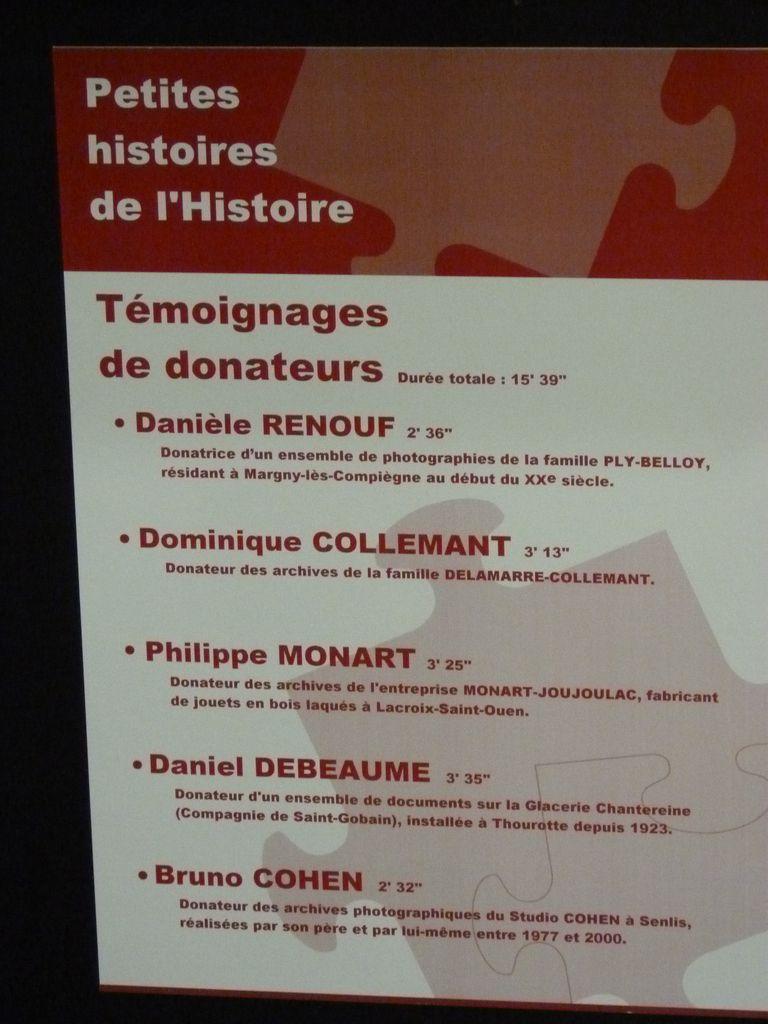 A1, la présence de la Glacerie de Chantereine (Saint-Gobain) aux archives départementales de l'Oise à Beauvais