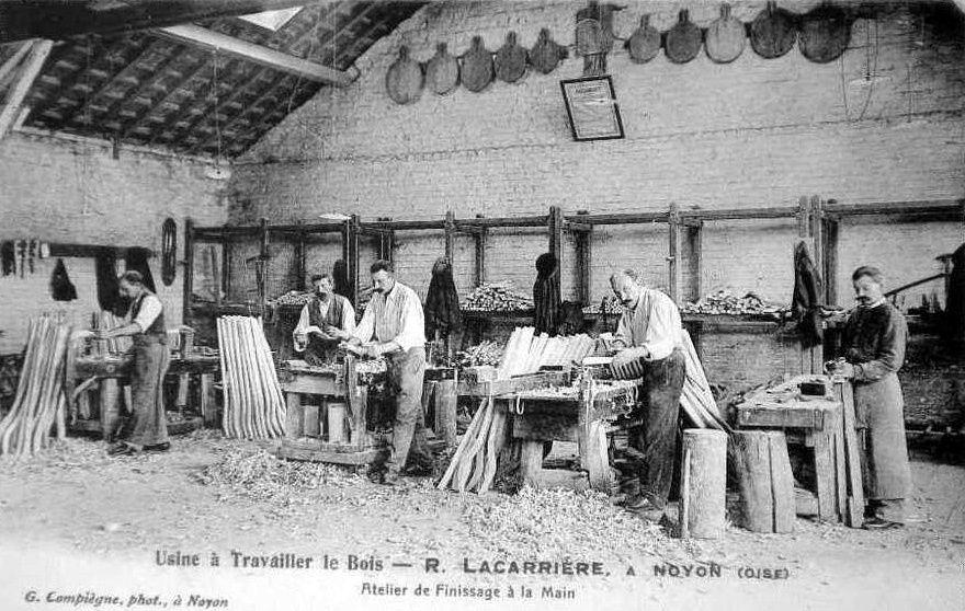 Album - la ville de Noyon (Oise), les usines, les établissements