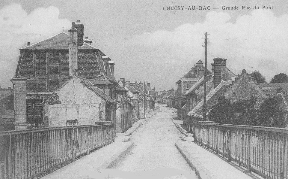 Album - le village de Choisy-au-Bac (Oise), les rues