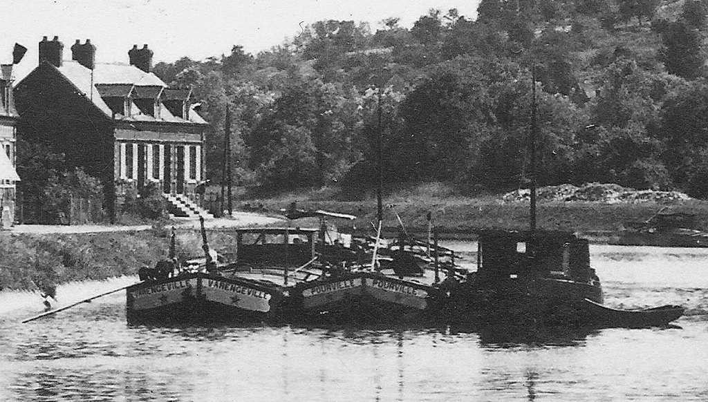 Album - le village de Longueil-Annel (Oise), le Port et en aval des écluses