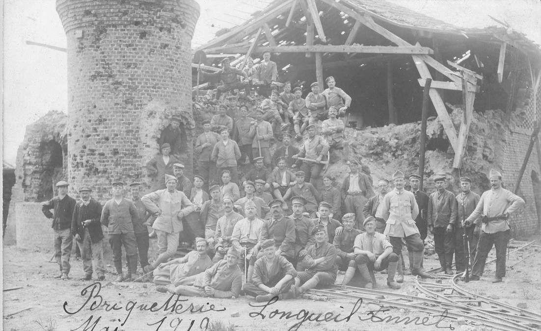 Album - le village de Longueil-Annel (Oise), la briquetterie