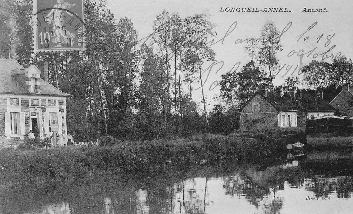 Album - le village de Longueil-Annel (Oise), le Canal, le Pont