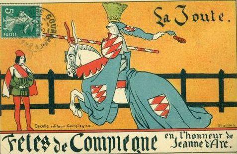 Album - la ville de Compiègne, les fêtes Jeanne d'Arc, les icônes