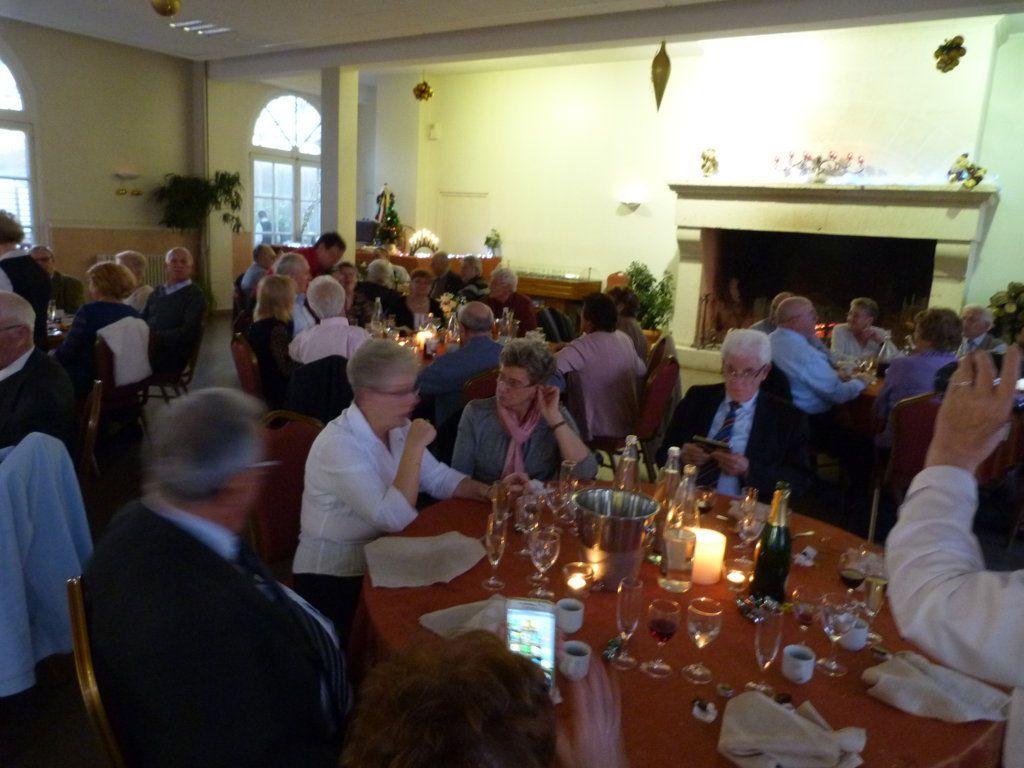 Album - Chantereine, l'Amicale des retraités de Chantereine, 11 décembre 2016, repas de fin d'année au Domaine des Thermes à Pierrefonds