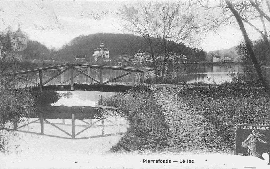 Album - le village de Pierrefonds(Oise), le Lac
