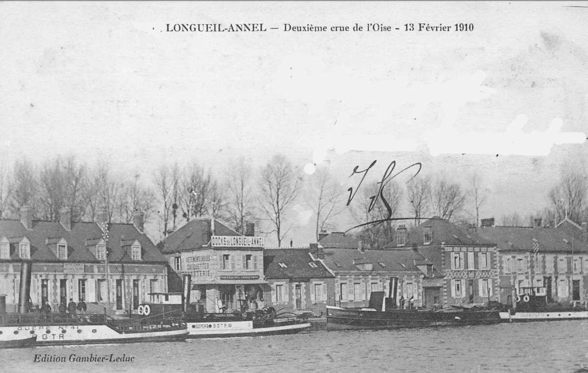 Album - le village de Longueil-Annel, (Oise), les inondations