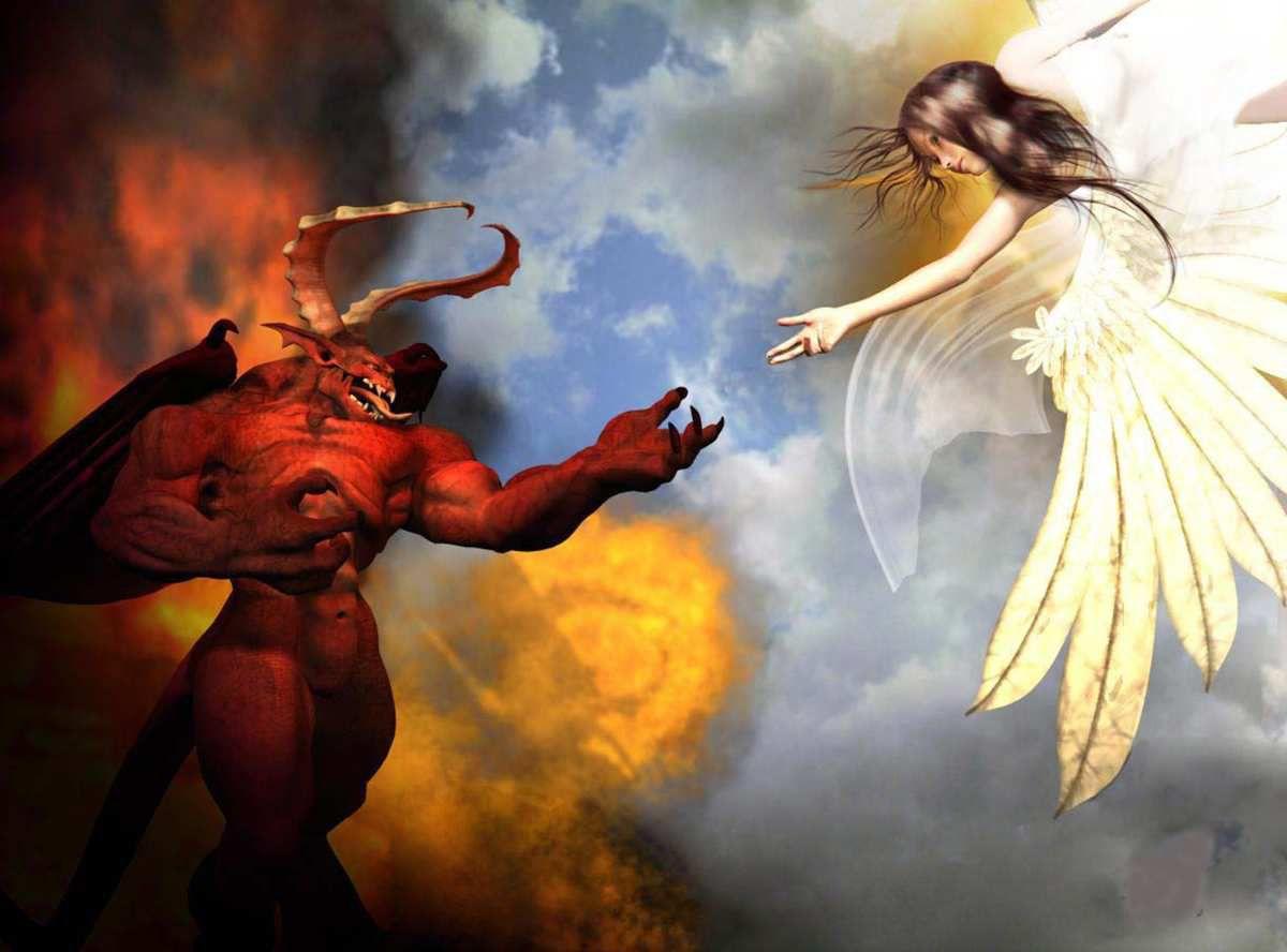 Image Ange Et Demon anges et démons. - propos divers