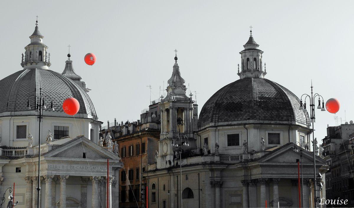 Fontaine Piazza Navona et Piazza d'Espana