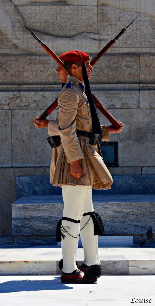 Relève de la garde devant le Parlement - Place Syndagma