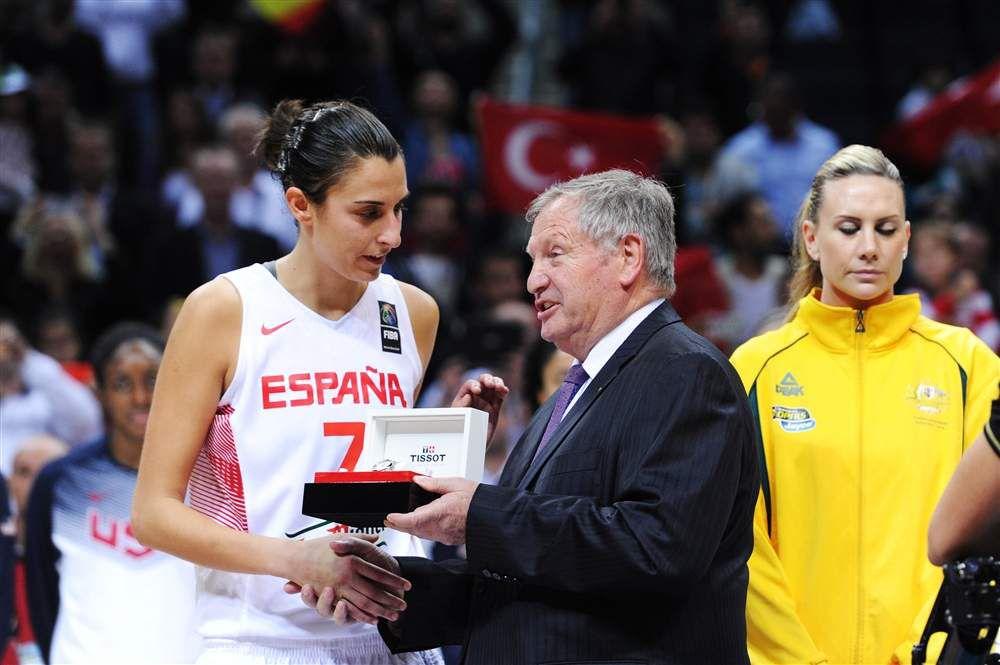 FIBA Europe: Alba Torrens élue encore meilleure joueuse européenne de l'année