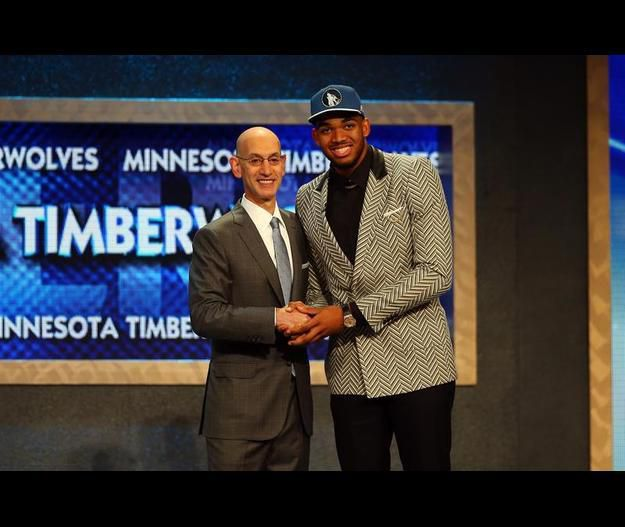Karl-Anthony Towns numéro 1 de la Draft