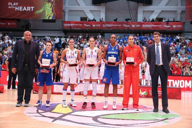 Euro dames 2015: la Serbie sur le toit d'Europe!