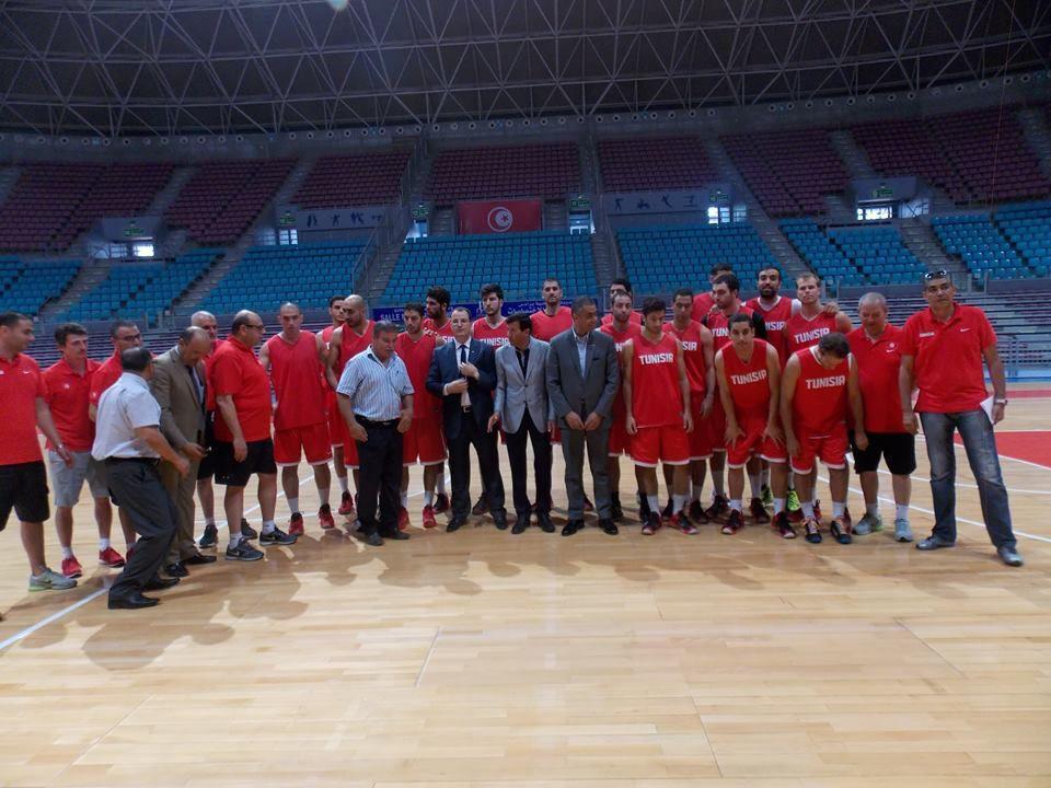 Afrobasket 2015: Visite du Ministre au Cinq National