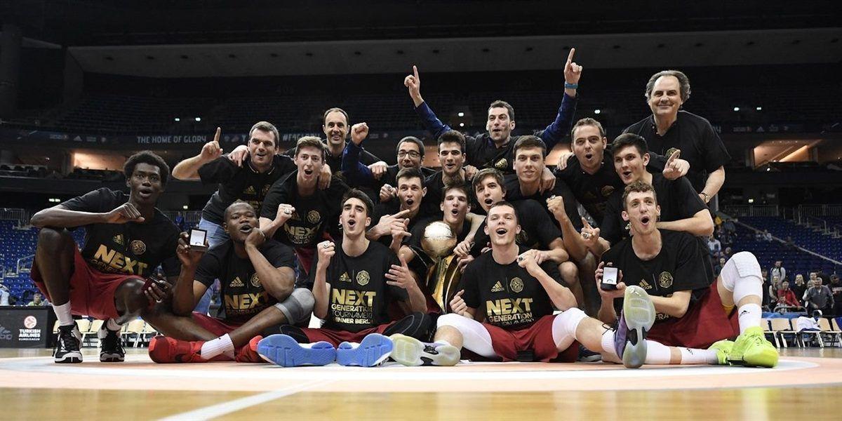 ANGT: Atoumane Diagne et Mamadou Fall Diop remportent le trophée avec le FC Barcelone