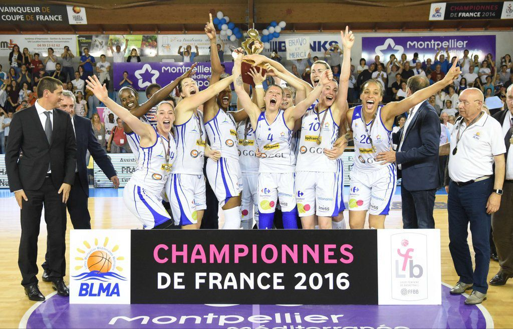 LFB: Lattes-Montpellier champion de France