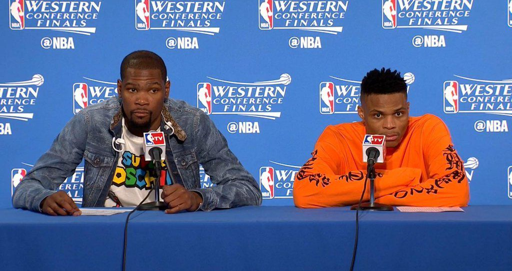 Russell Westbrook: &quot&#x3B; On a une grande équipe &quot&#x3B;