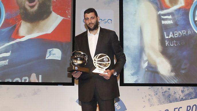 ACB: Ioannis Bourousis élu MVP de la saison