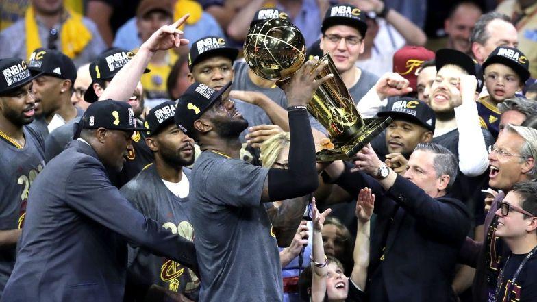 LeBron James a porté les Cleveland Cavaliers vers le premier titre de leur histoire.