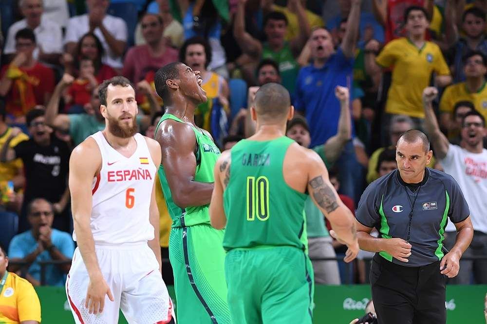 JO : Le Brésil fait chuter l'Espagne, Pau Gasol méconnaissable