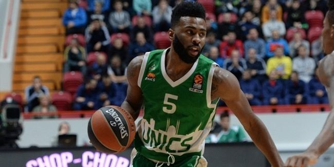 Keith Langford élu MVP de la 5ème journée de l'Euroleague