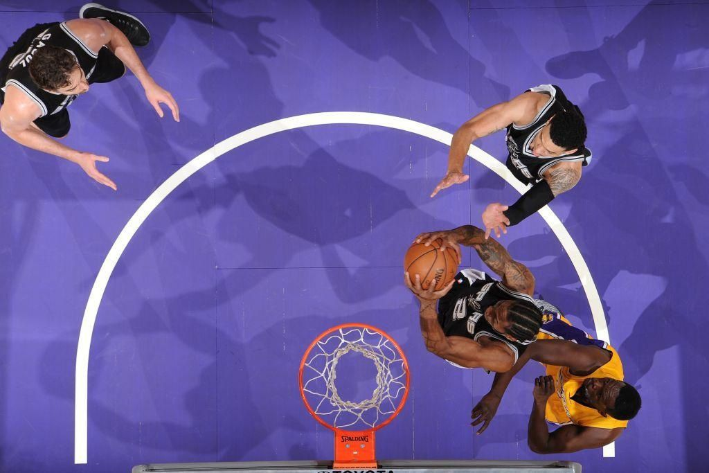 Les Spurs s'imposent à Los Angeles contre les Lakers