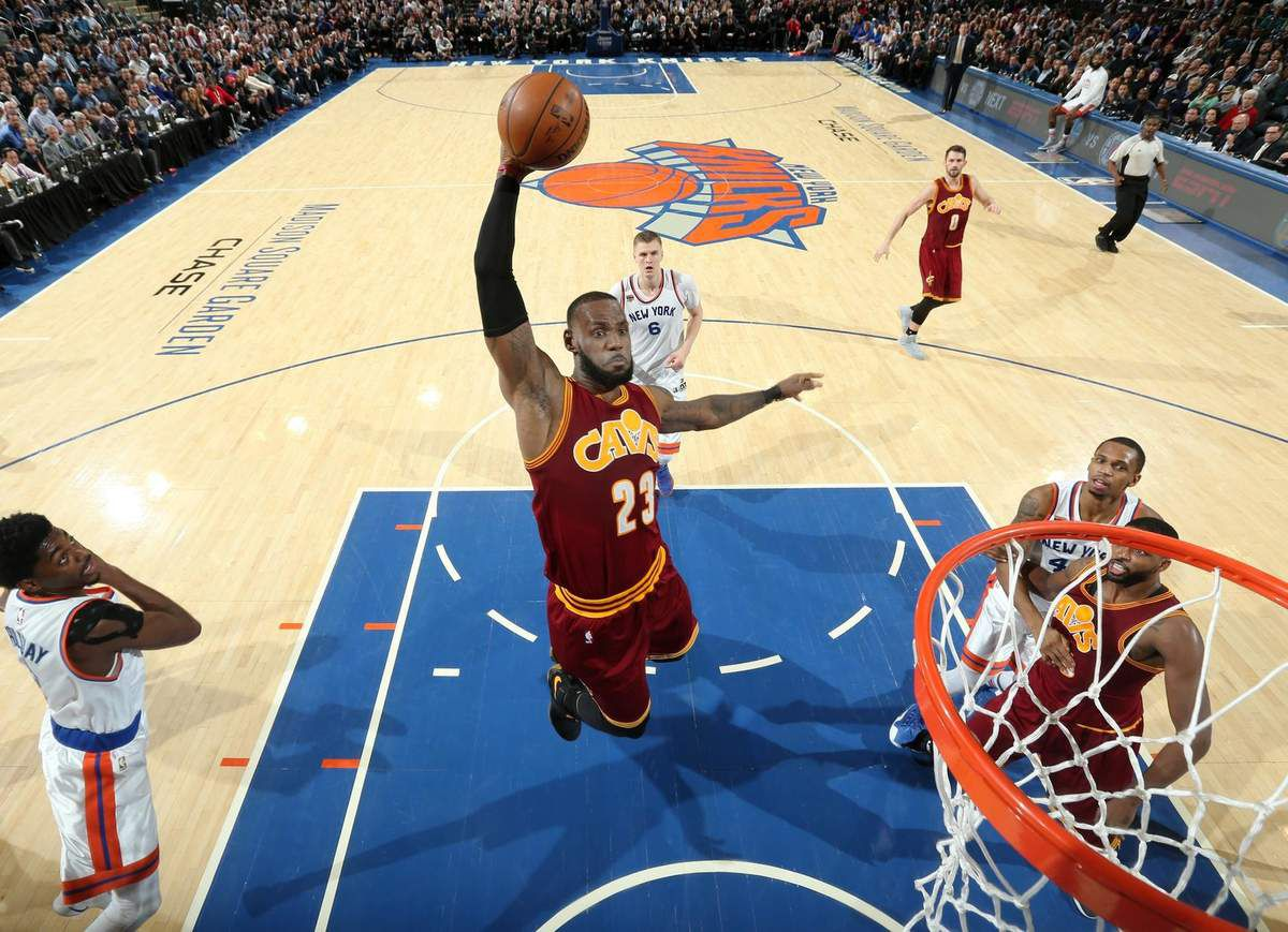 Les Cavs corrigent les Knicks au Madison Square Garden