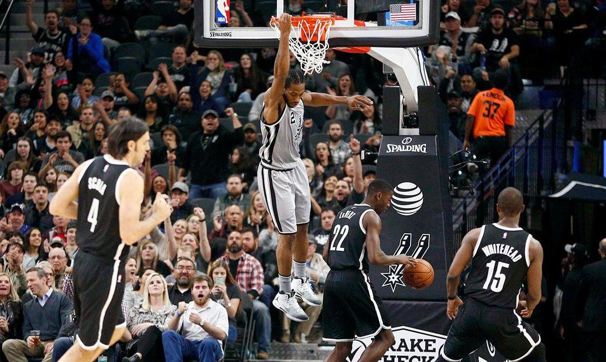 Les Spurs ont déroulé contre les Nets