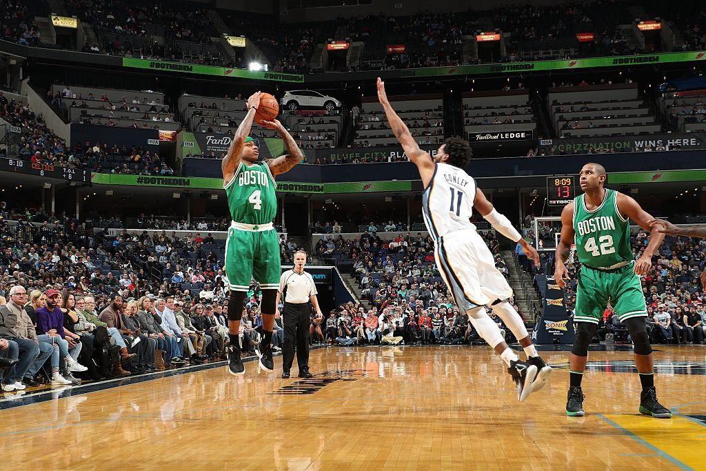 Isaiah Thomas porte les Celtics à Memphis avec un record en carrière (44 points)