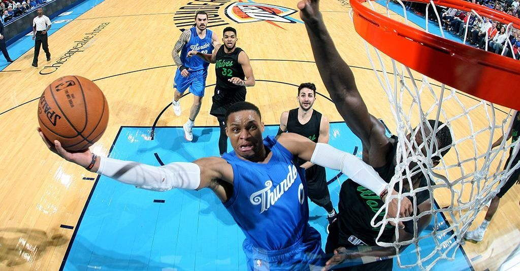 Russell Westbrook porte OKC face aux Timberwolves