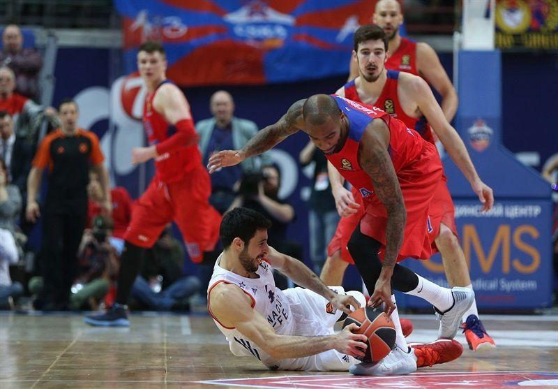 Le CSKA Moscou domine l'Anadolu Efes