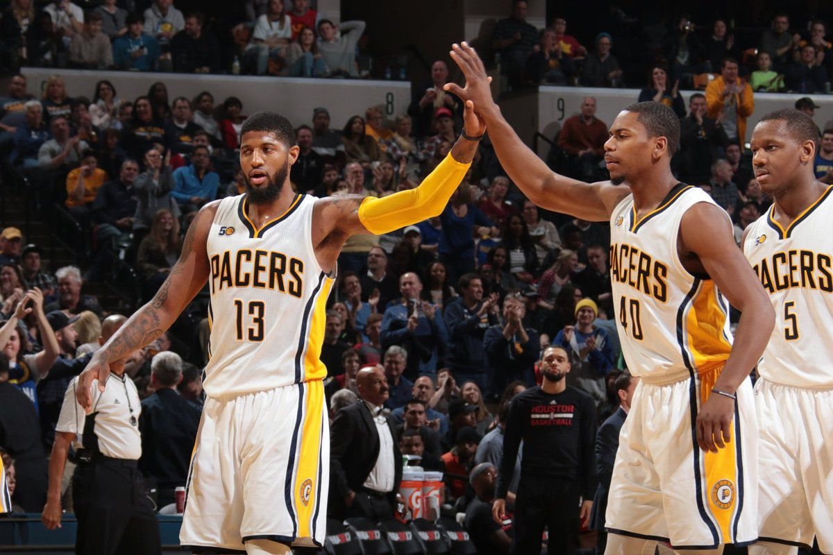 Paul George (33 points et 9 rebonds) fait plier James Harden et les Rockets
