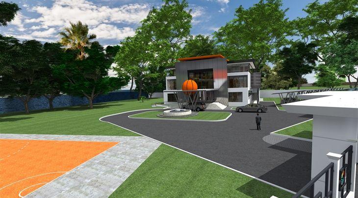 Cérémonie de pose de la première pierre du nouveau siège de FIBA Afrique