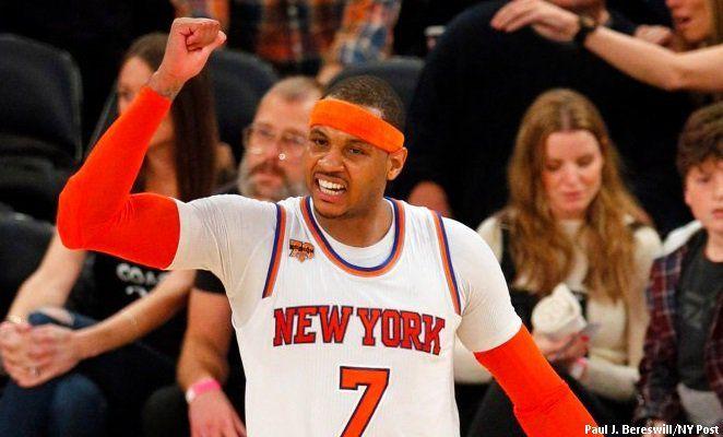 Carmelo Anthony prêt à dire non au All Star Game?