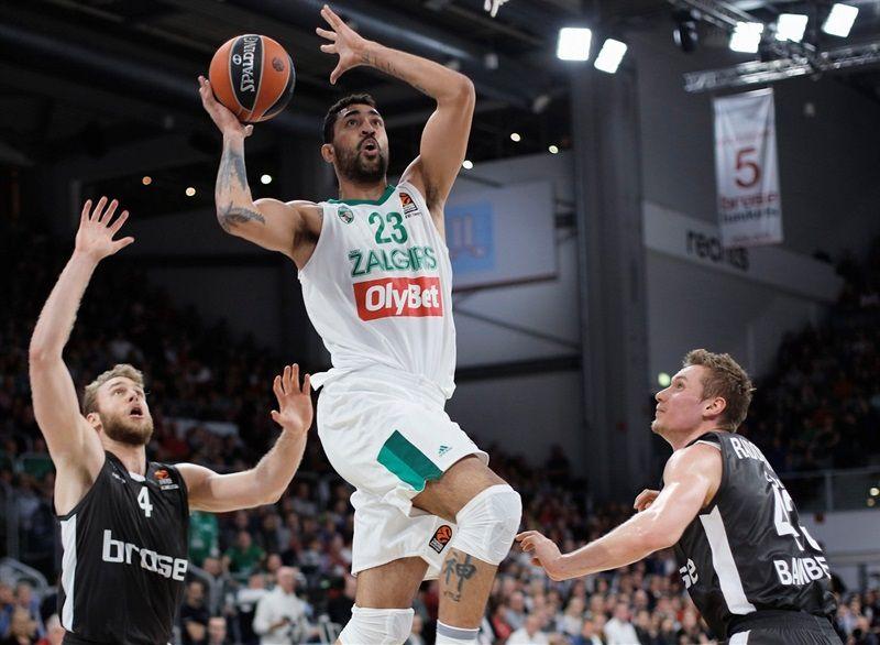 Le Zalgiris Kaunas renverse Bamberg