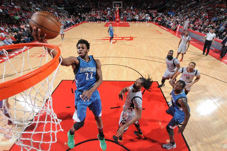 Houston remporte un match ultra offensif face aux Timberwolves