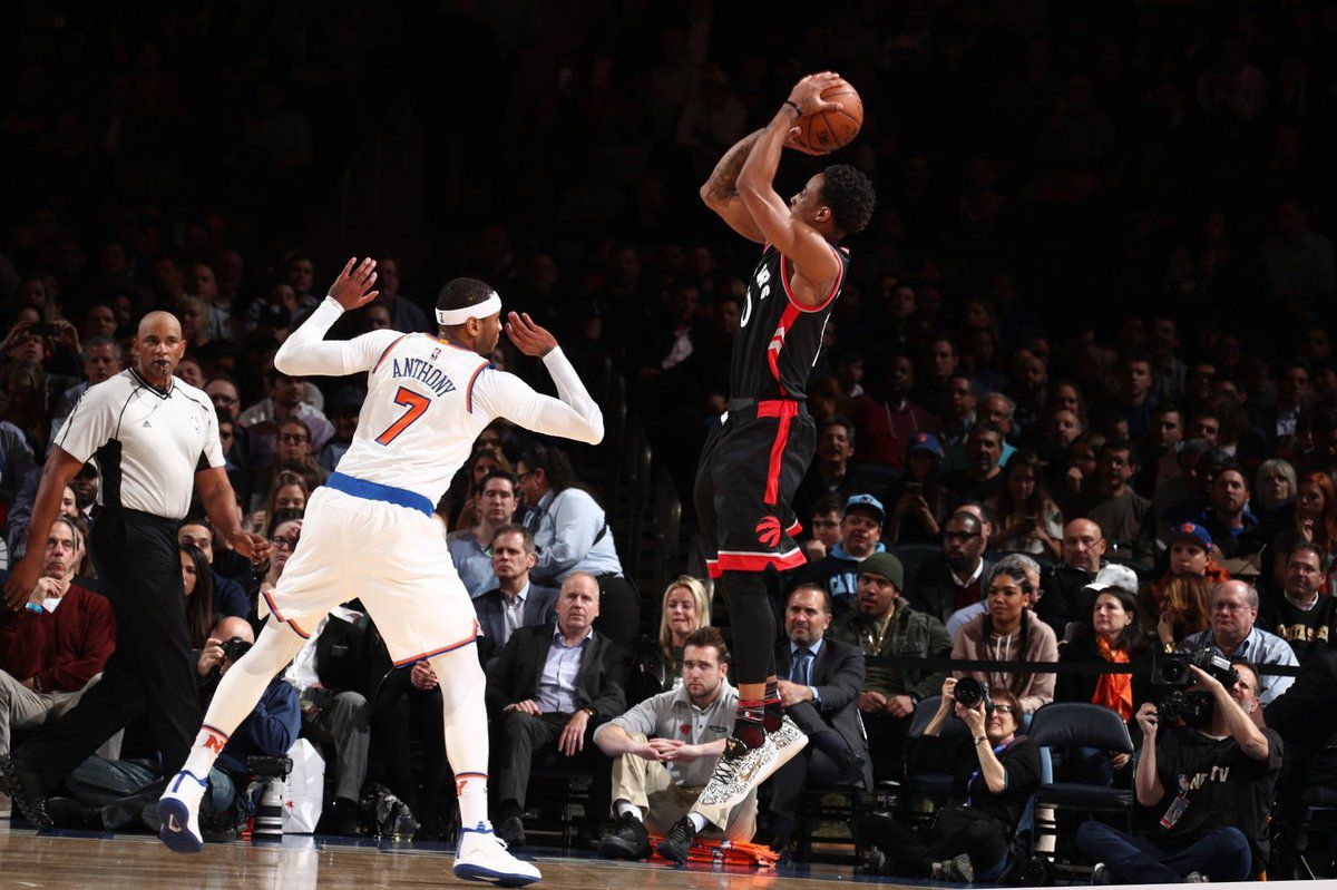 DeMar DeRozan (37 points) délivre les Raptors à New York avec un Game winner