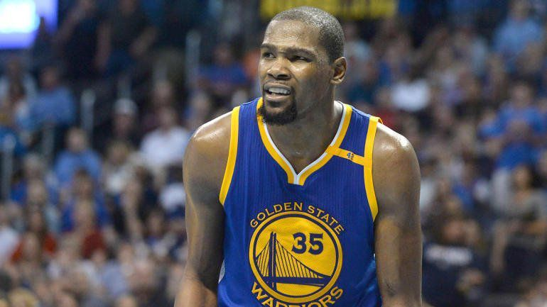 Kevin Durant absent au moins 4 semaines