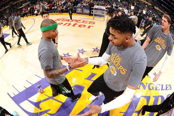 Les Celtics corrigent les Lakers au Staples Center