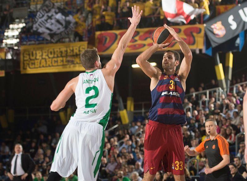 Barcelone a eu chaud contre l'Unics Kazan