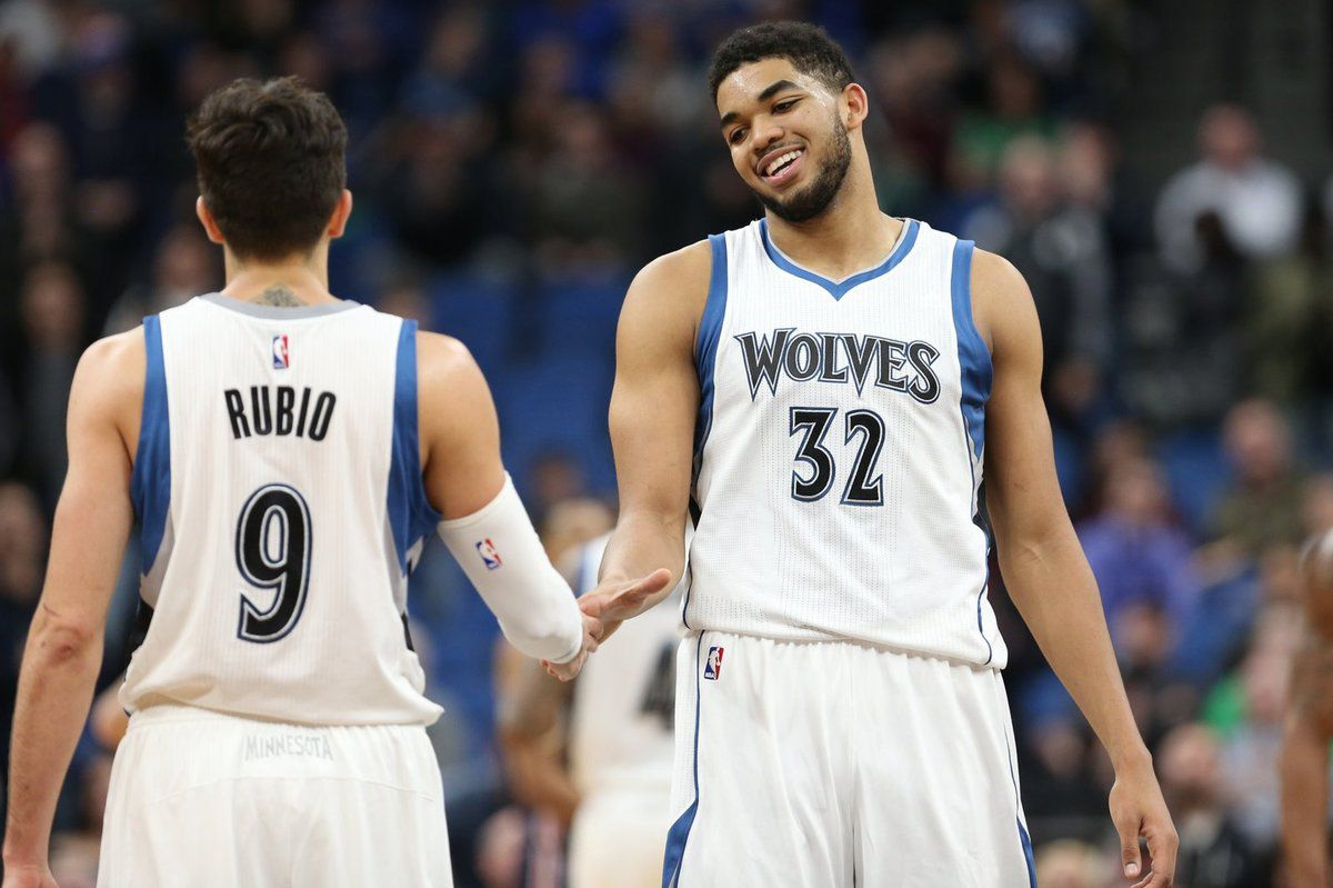 Un stratosphérique duo Ricky Rubio (22 points et 19 passes) - Karl-anthony Towns (39 points et 13 rebonds) fait chuter les Wizards