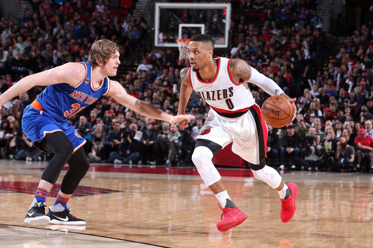 Portland s'impose facilement contre les Knicks