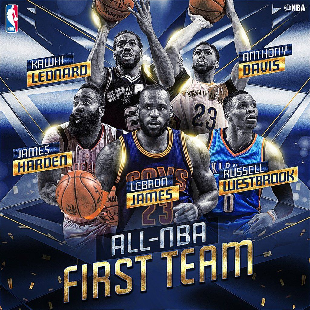 La NBA dévoile les All-NBA Teams 2016-17