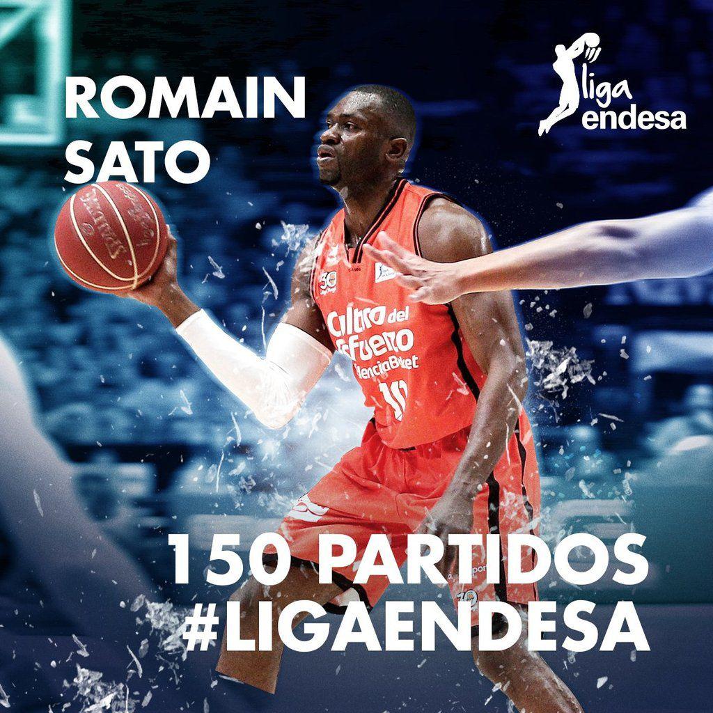 Romain Sato est sur le point d'écrire une nouvelle page d'histoire de Valencia Basket, jamais sacré champion d'Espagne !