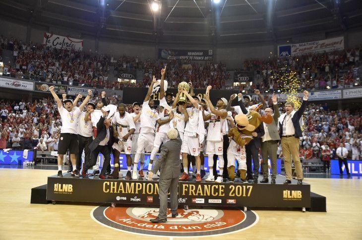 Avec 13pts de moyenne en 5 matchs, le camerounais Jérémie Nzeulie est élu MVP de LNB.