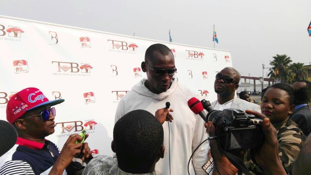 Bismack Biyombo : « J'aime mon pays. J'aime la jeunesse de mon pays »