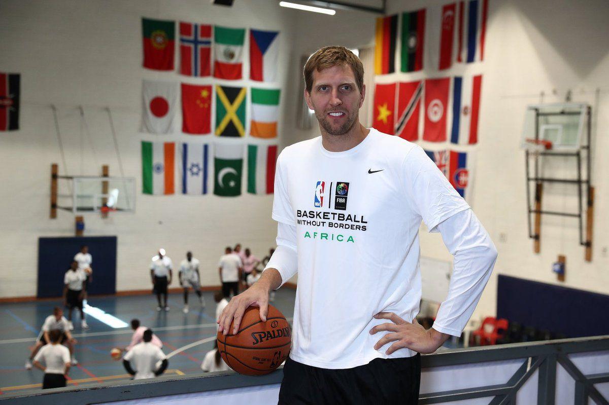 Dirk Nowitzki encourage les jeunes africains à devenir de bons shooteurs