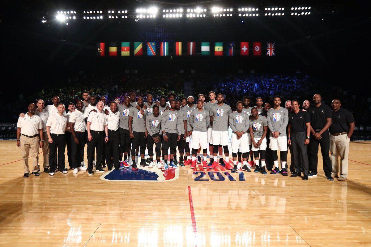 Des chiffres record pour la NBA Africa Game 2017
