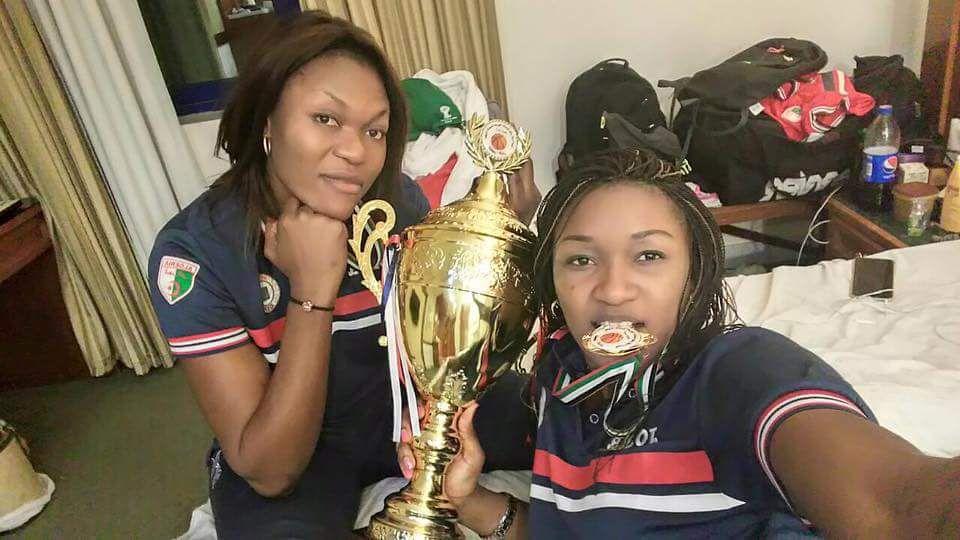 Source images: Page officielle Facebook de Ginette Mfutila